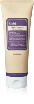 Klairs Supple Preparation All-Over Lotion дълбоко хидратиращо мляко за тяло за суха кожа