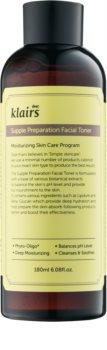 Klairs Supple Preparation Facial Toner tónico hidratante equilibrador del nivel de pH de la piel