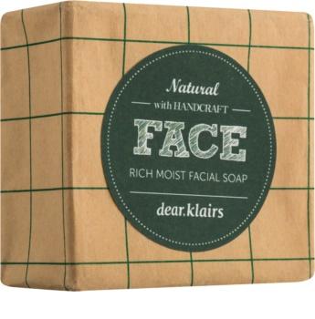 Klairs Rich Moist Facial Soap tuhé mýdlo pro citlivou pleť