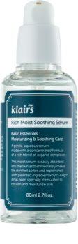 Klairs Rich Moist Soothing Serum serum kojące do twarzy o działaniu nawilżającym