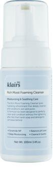 Klairs Rich Moist Foaming Cleanser čisticí pěna s hydratačním účinkem