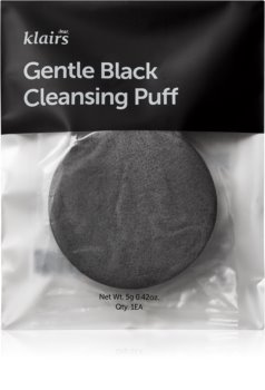 Klairs Gentle Black Cleansing Puff Cleansing Puff for Face