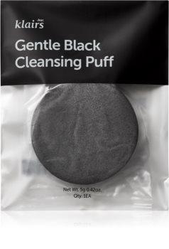 Klairs Gentle Black spugnetta detergente per il viso