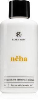 Klara Rott Něha лосион за почистване на грим с две съставки за нормална кожа