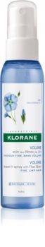 Klorane Flax Fiber Jätettävä Suihke Voimakkuudelle ja Muodolle