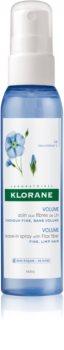 Klorane Flax Fiber spray care nu necesita clatire pentru volum și formă