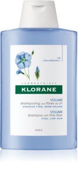 Klorane Flax Fiber шампоан  за тънка коса без обем