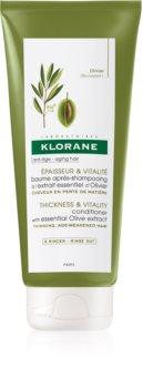 Klorane Organic Olive balsam pentru indreptare pentru par matur