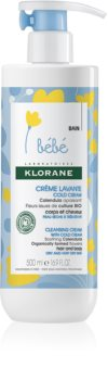 Klorane Bébé Calendula Cleansing Cream For Dry To Very Dry Skin