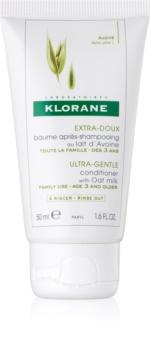 Klorane Oat Milk zartes Conditioner für häufiges Haarewaschen
