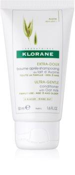 Klorane Oat Milk нежен балсам за често измиване на косата