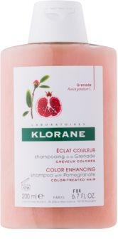 Klorane Pomegranate șampon pentru păr vopsit