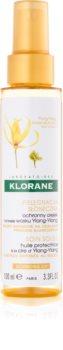 Klorane Ylang-Ylang ochranný olej pre vlasy namáhané slnkom