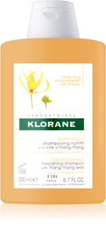 Klorane Ylang-Ylang intensives, nährendes Shampoo für von der Sonne überanstrengtes Haar