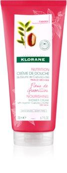 Klorane Cupuaçu Fleur de Groseillier crème de douche hydratation intense