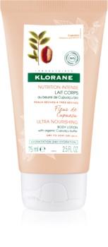 Klorane Cupuaçu Fleur de Cupuaçu lait corporel nourrissant intense