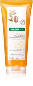 Klorane Orange Blossom Honey vyživující sprchový gel