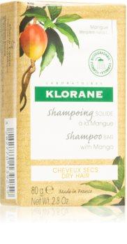 Klorane Mango szilárd sampon táplált és fényes hatásért