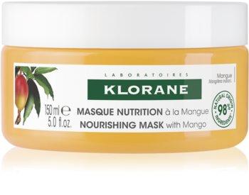 Klorane Mango intenzivně vyživující maska na vlasy