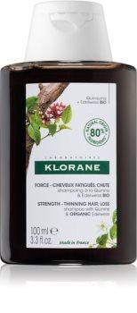 Klorane Chinin & Bio Protěž Alpská posilující šampon proti vypadávání vlasů