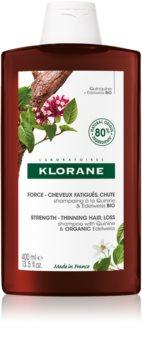 Klorane Quinine & Edelweiss Bio Versterkende Shampoo  tegen Haaruitval