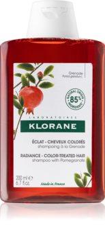 Klorane Granátové jablko rozjasňující a posilující šampon pro barvené vlasy