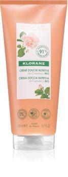 Klorane Cupuaçu Bio Růžové mléko vyživující sprchový gel