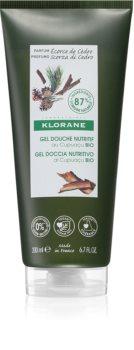 Klorane Cupuaçu Bio Kůra z cedru vyživující sprchový gel