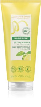 Klorane Cupuaçu Bio Extrakt z citrónové kůry vyživující sprchový gel