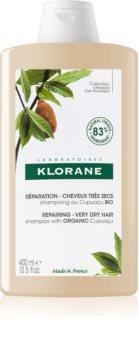Klorane Cupuaçu Bio Bio vyživující šampon pro suché a poškozené vlasy