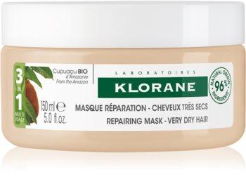 Klorane Cupuaçu Bio Bio regeneráló hajmasz  a nagyon száraz hajra