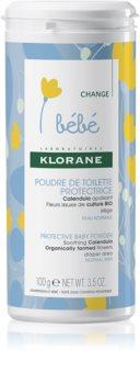 Klorane Bébé Calendula pudră protectoare pentru copii