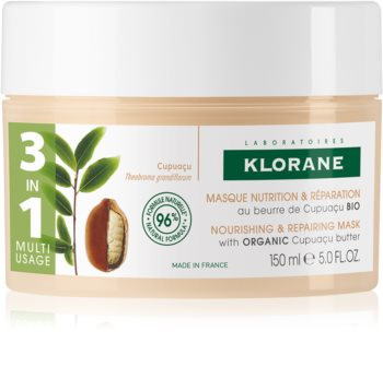 Klorane Cupuaçu Fleur de Cupuacu Intensive Nourishing Mask For Very Dry And Damaged Hair