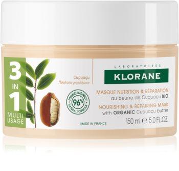 Klorane Cupuaçu Fleur de Cupuacu интензивна подхранваща маска за изключително суха и увредена коса