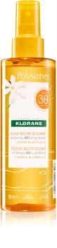 Klorane Monoï & Tamanu Aurinkoöljy Suihkeena SPF 30