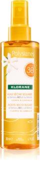 Klorane Monoï & Tamanu olio abbronzante in spray SPF 30