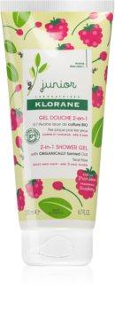 Klorane Junior Shampoo en Douchegel 2in1 voor Kinderen