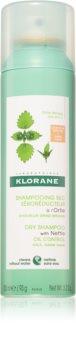 Klorane Kopřiva suchý šampon pro mastné tmavé vlasy