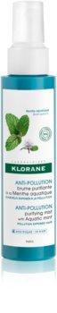 Klorane Aquatic Mint erfrischender Sprühnebel für Haare, die der Luftverschmutzung ausgesetzt sind