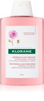 Klorane Peony champô apaziguador para couro cabeludo sensível