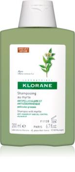 Klorane Myrtle šampon proti mastnemu prhljaju