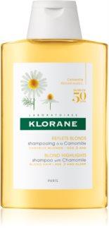 Klorane Chamomile șampon pentru par blond