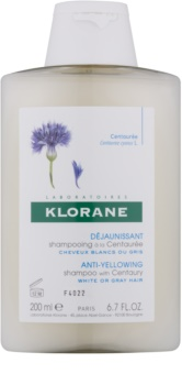 Klorane Centaurée champô para cabelo loiro e grisalho