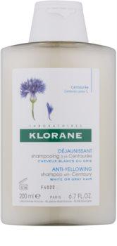 Klorane Centaurée Shampoo für blonde und graue Haare