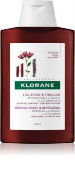 Klorane Quinine shampoing fortifiant pour cheveux affaiblis