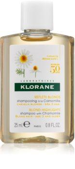 Klorane Chamomile champú para cabello rubio