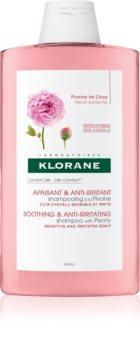 Klorane Peony шампоан, успокояващ чувствителната кожа
