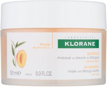 Klorane Mango Nourishing Mask for Dry and Damaged Hair