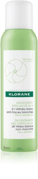 Klorane Hygiene et Soins du Corps déodorant en spray