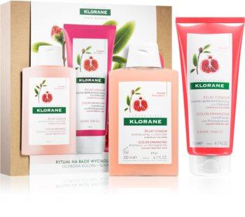 Klorane Pomegranate подаръчен комплект VI. (за боядисана коса)